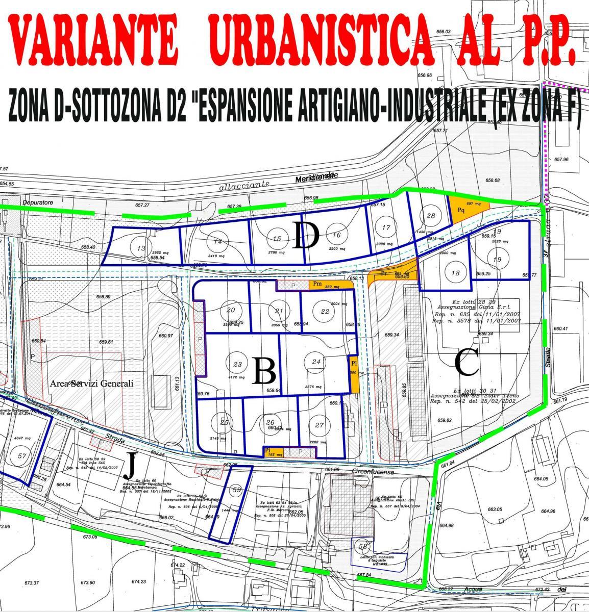 Variante Urbanistica Zona Artigianale ed Industriale - approvazione definitiva