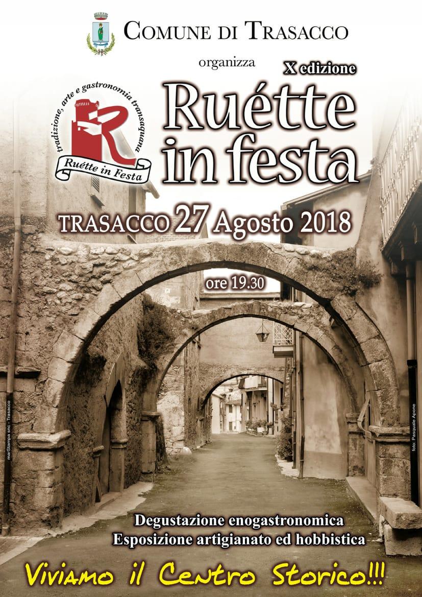Ruette In feste edizione 2018